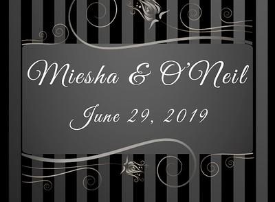 Miesha & O'Neil's Wedding!