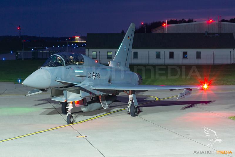 German Air Force  / Eurofighter Typhoon EF2000(T) / 30+38