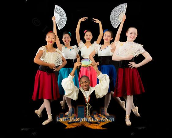 Don Quixote Dance Portraits