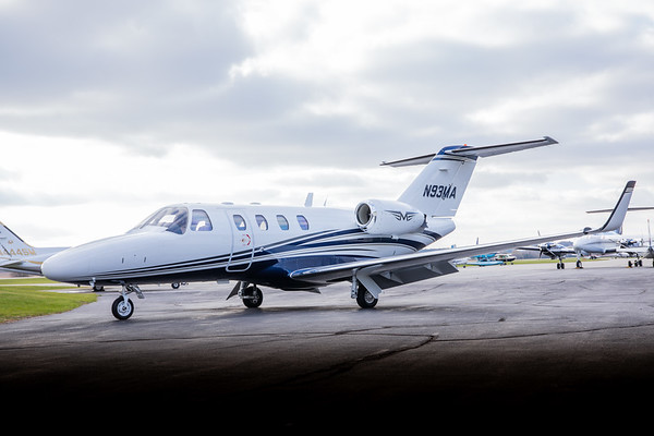 Citation CJ1 N93MA (High Res No Logo)