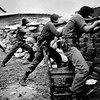 Barricaded Rebels,<br /> Against Government Assault.<br /> Sandinista War.<br /> <br /> Nicaragua