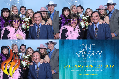 One Amazing Night 2019 photo booth