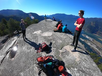 2018-10-13 Squamish Chief hike