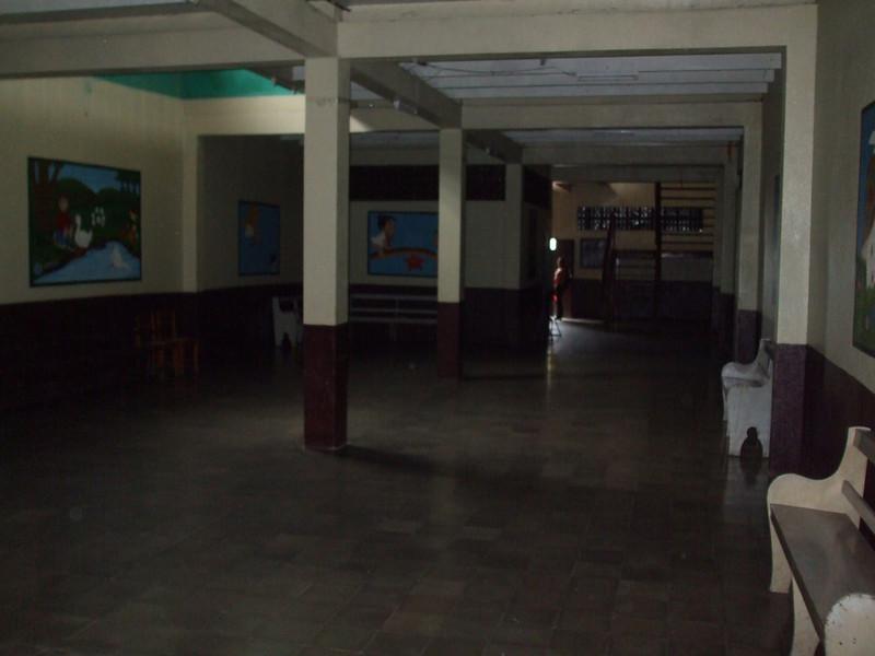 Main entrance area looking toward front door