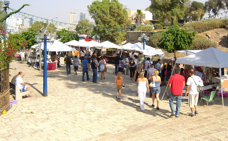 32-A Saturday morning shuk (market)