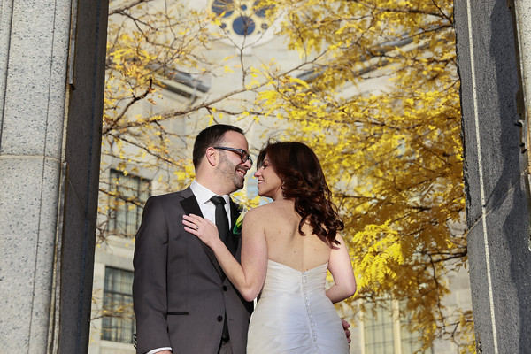 Emily & Ira's Fall Liberty Hotel Wedding