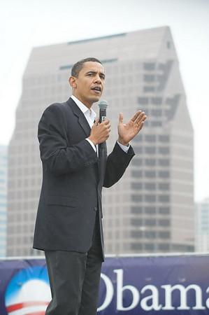 Barack Obama, Political Rally in Austin, TX