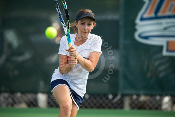 Wheaton College 2016-17 Women's Tennis Action Photos, August 23, 2016
