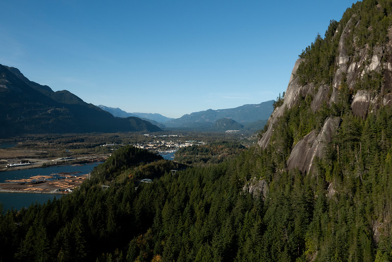 Squamish view from The Stawamus Chief