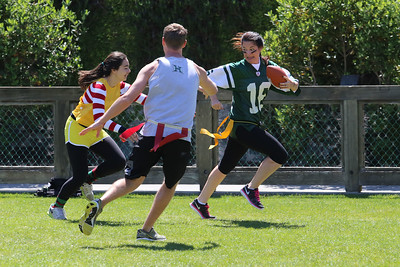 Eighth Grade vs. Faculty Flag Football Game