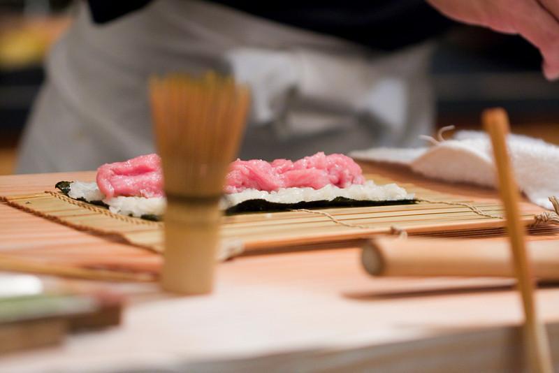 Course #10: Sushi Sushi #19: Toro roll