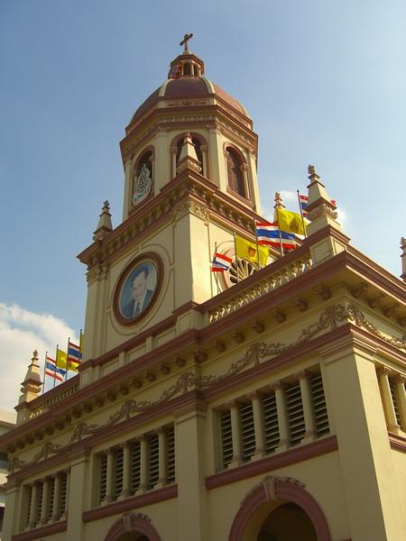 Church Steeple - Bangkok, Thailand