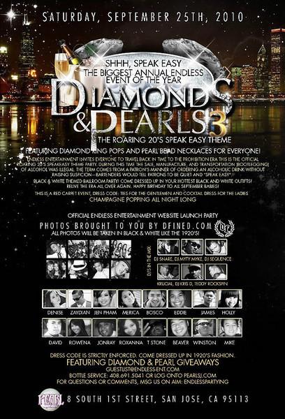 9/25 [Diamond & Pearls 3@Pearl]