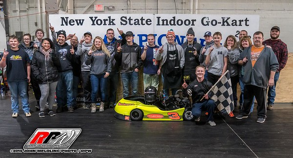 NYS Indoor Karts Day 2 - 12-7-2019 - John Meloling