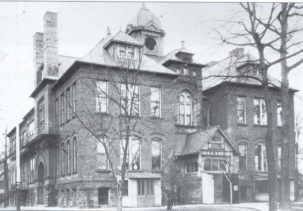 . Historic photo provided by Jim Smith <br> Lowell Elementary School was built in 1896 on East 31st Street in Lorain. It was demolished in the 1960s.