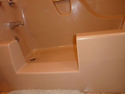 Fiberglass #A5 - BathTub Conversion to Shower & Grab Bars Added ... Custom Built. Woodbury, PA