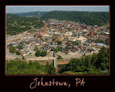 View of Johnstown - Summer