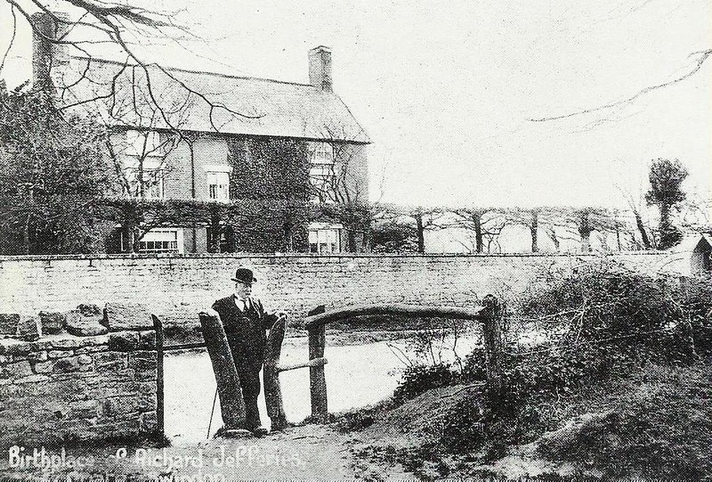 Birth place of Richard Jefferies c1905