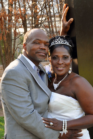 Angeline and Alvin Wedding April 25, 2015