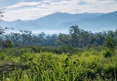 Morning Mist Mountains of Nayarit, Mexico