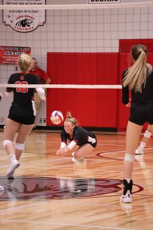 Iowa-Grant vs Darlington Volleyball 9-10-19