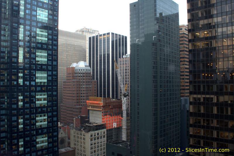 Progress of Hyatt Times Square, 135 West 45th Street - 15-Feb-2012