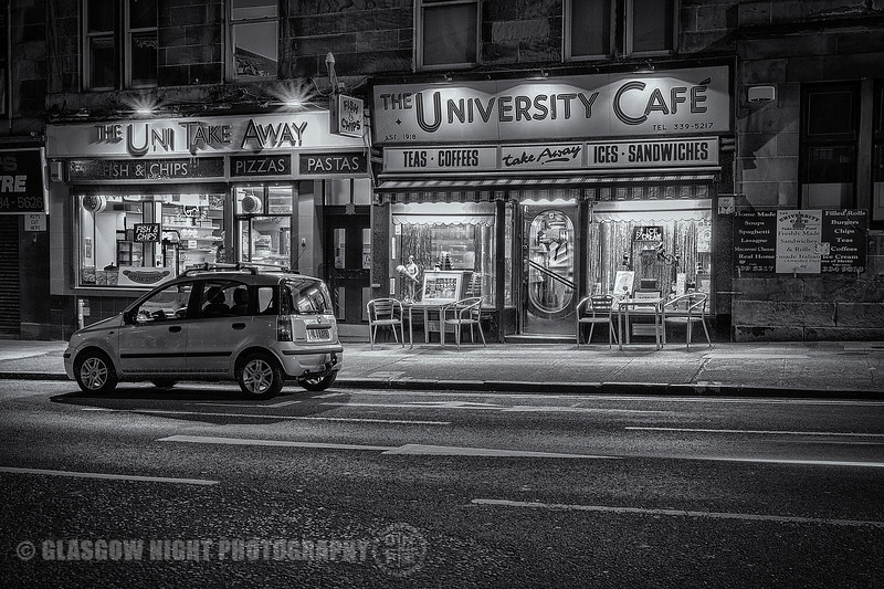 University Cafe - Byres Road