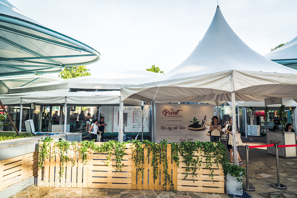The Great Food Festival RWS - Celebrity Chef Arena exterior