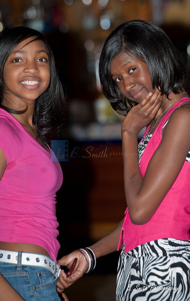 Anajea, Qadirah and Daymond 's Birthday party
