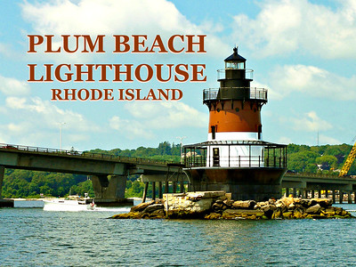 Plum Beach Lighthouse, Rhode Island