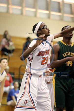 Kalaheo Boys Basketball - Lei 2-20-14