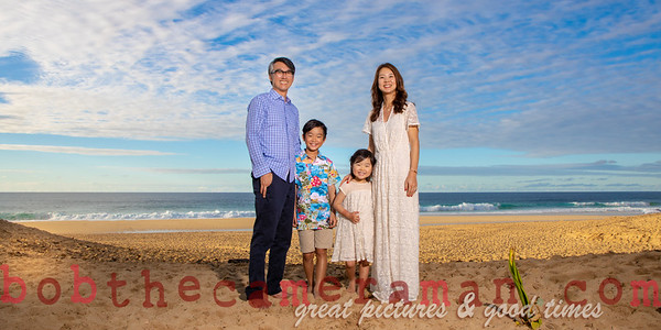 Kim Family portrait - February 21, 2019