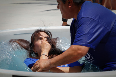 Vantage Point Church Father's Day Baptisms 2015