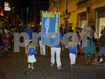 Foto sfilata borgate Palio del Golfo 2011 - Venere Azzurra La Spezia