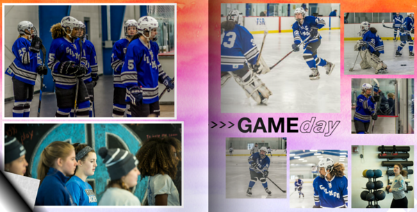 Gilmour Academy Lancers Girls Prep Hockey Memory Book