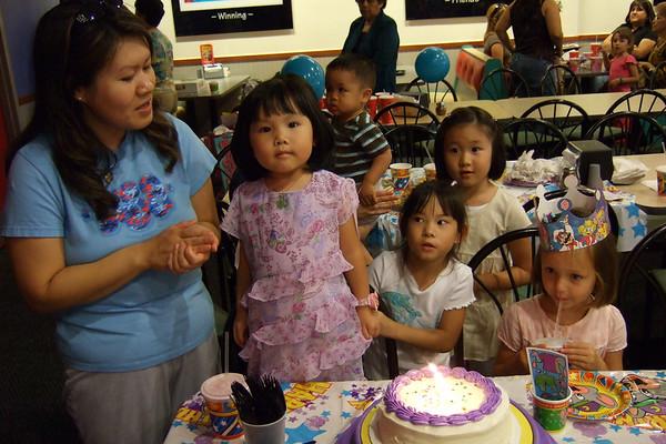 Amy's 4th Birthday