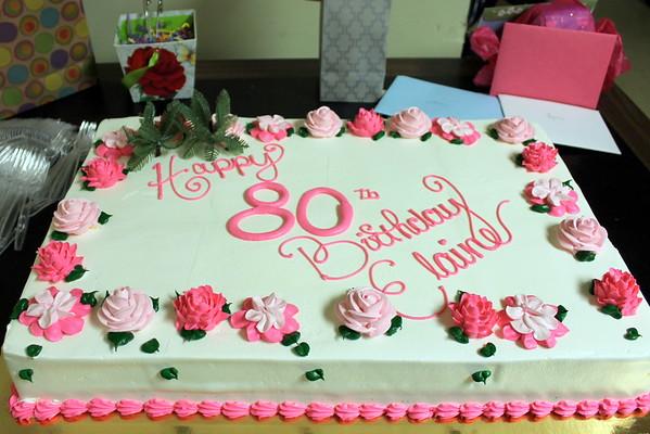 Elaine's 80th