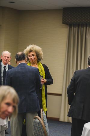 UM Flint| Angela Davis Faculty Luncheon-MI Rooms