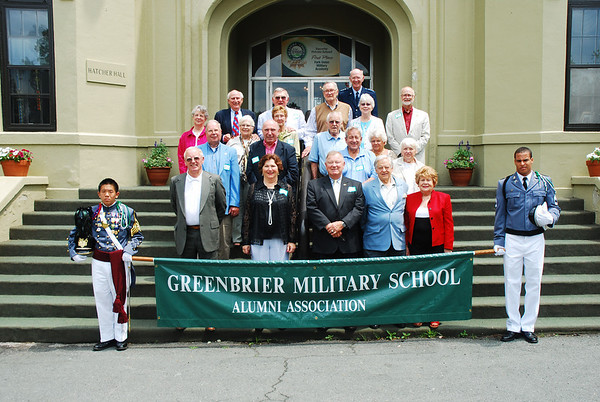 Greenbrier Military School Parade