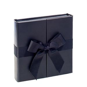 Ribbon Fold Album Black