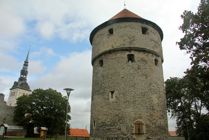 Kiek in de Kok Built 1475 - 1481, this 147 ft., six-story cannon tower played a key role in the Livonian War and still has nine cannonballs embedded in its walls to prove it.  -Tallinn, Estonia