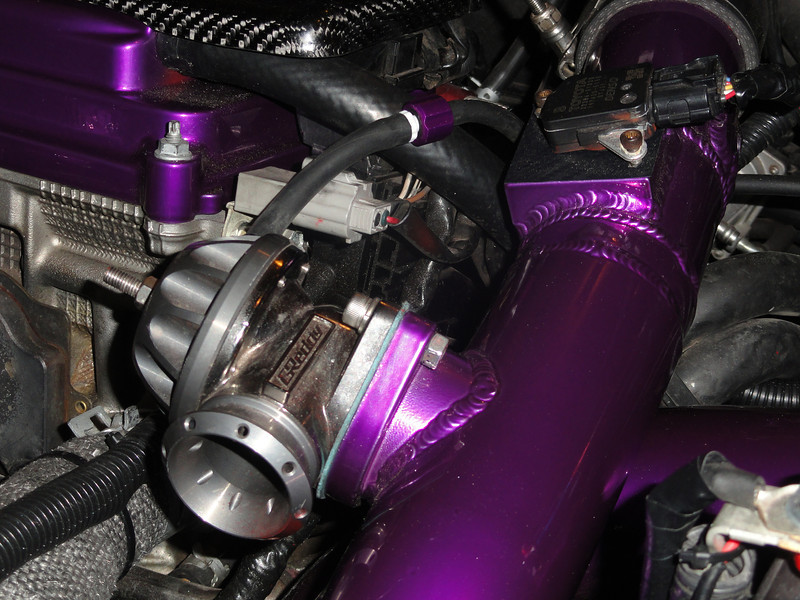Hose Candy on Greddy blow off valve, Turbo Scion