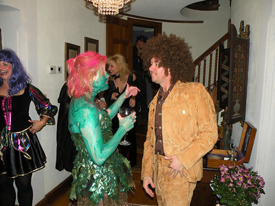 Halloween at Pansegraus' 2008