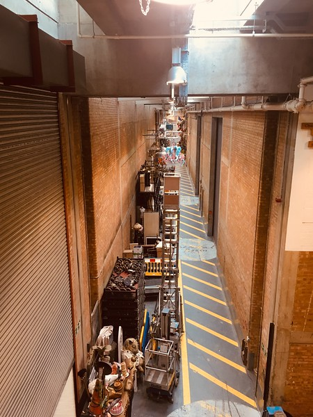 National Theatre backstage tour behind the Drum.JPG
