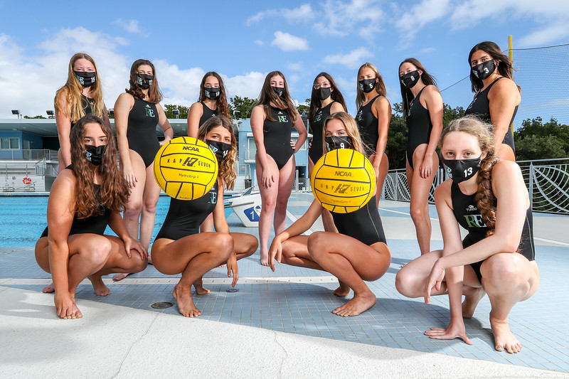 Ransom Everglades Girls Water Polo Photo Shoot, 2021