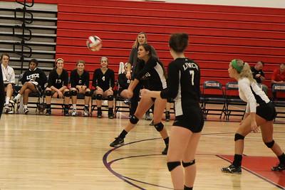 JV BL Volleyball vs JP II at JP II (10/09/2014)