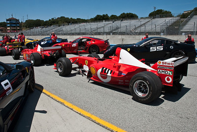 Ferrari Days at Laguna Seca