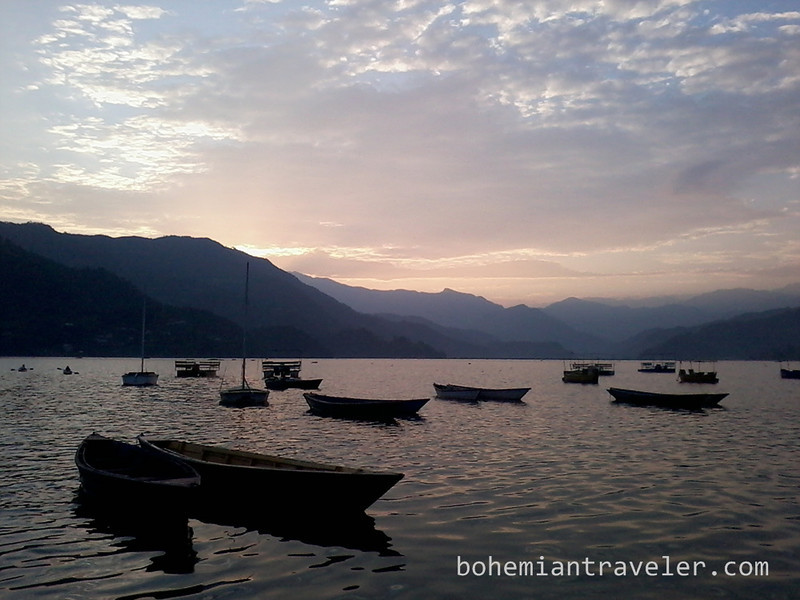 Phewa Tal sunset view Pokhara.jpg