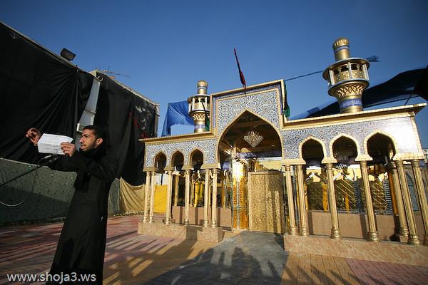 الرادود الحسيني الشاب محمد العنكي  عزاء الزنجيل بالقديح - يوم 6 محرم 1430 هـ