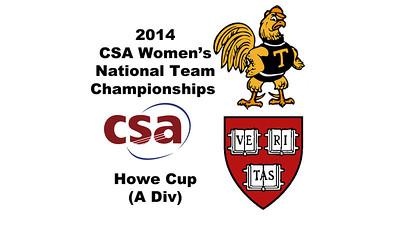 2014 Women's CSA National Team Championship Videos